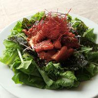 野菜たっぷり サムギョプサルサラダ