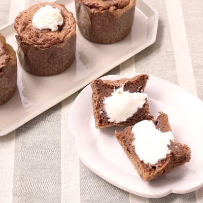 低糖質 カップで生シフォンケーキ