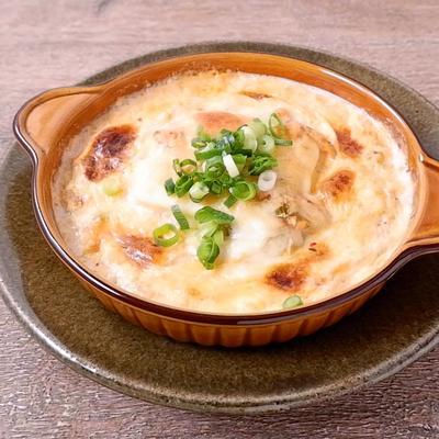 簡単 豆腐のキムチーズスープ