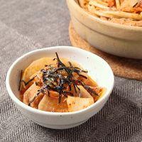 豚バラと大根のミルフィーユキムチ鍋
