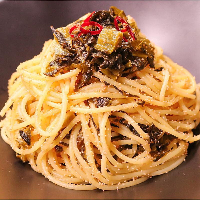 明太子 スパゲッティ の 作り方