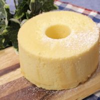 ふんわり基本のバニラシフォンケーキ