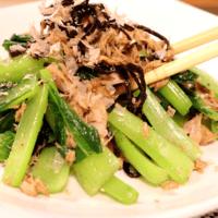 ツナと小松菜の常備菜