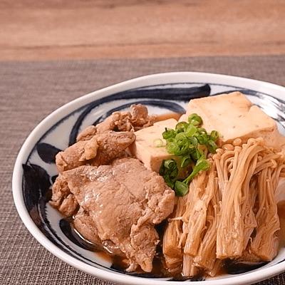 お手軽肉豆腐