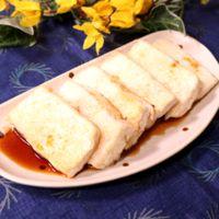 カリッと美味しい!ポン酢で頂く豆腐ステーキ