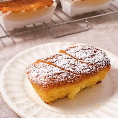 レモン風味ミニパウンドケーキ