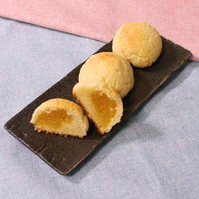 パイン缶で さっくりまん丸パイナップルケーキ