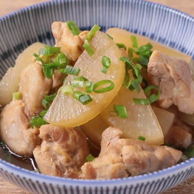 鶏と大根のさっぱり煮