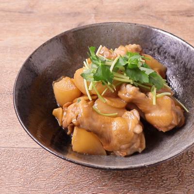 大根と手羽元の生姜煮