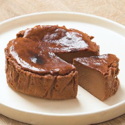 【辻口シェフ】チョコバスクチーズケーキ