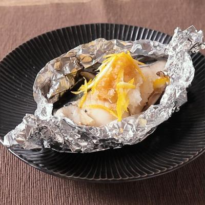 柚子ポン酢でさっぱり 鰆のホイル焼き