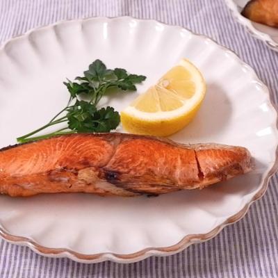鮭のポワレ