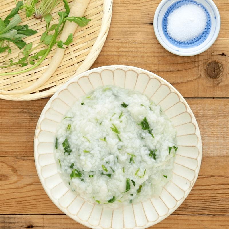 優しい味わい 七草粥 作り方・レシピ | クラシル