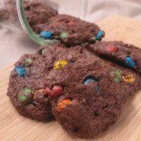 アメリカンなドロップドチョコクッキー