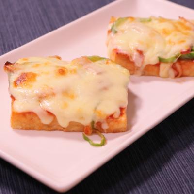 ピザ風!厚揚げのチーズ焼き