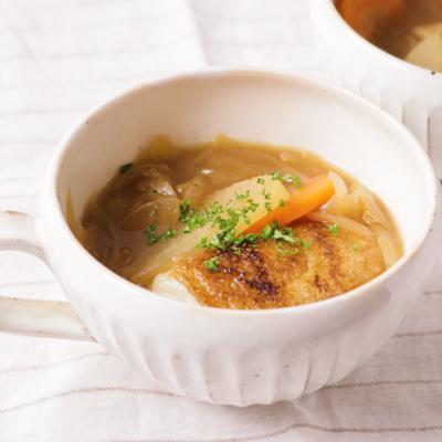 オニオンスープの雑煮