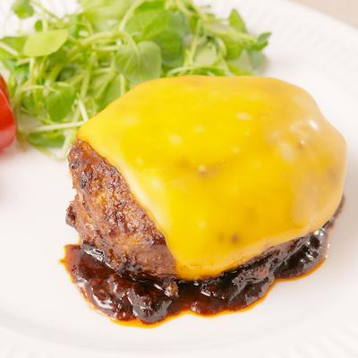 とろ〜り 2種のチーズハンバーグ
