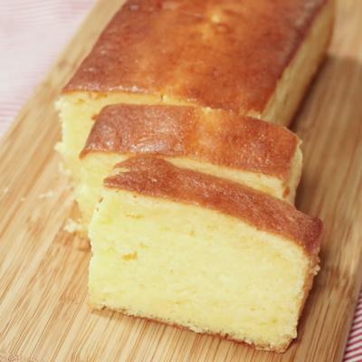 基本のプレーンなパウンドケーキ