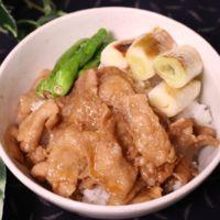 豚バラ肉のガッツリ豚丼