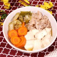豚バラ肉豆腐
