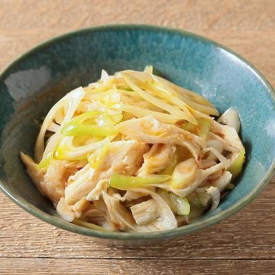 サラダチキンで簡単 中華風おつまみ