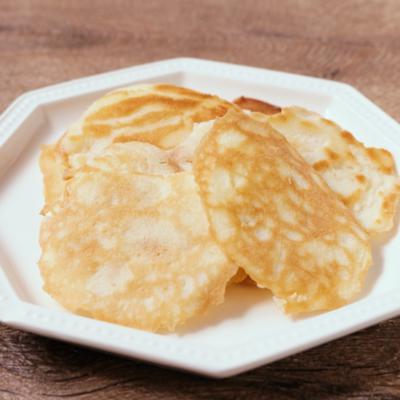 簡単フライパンで焼くラングドシャ