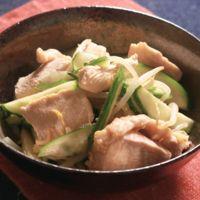 簡単副菜 鶏肉ときゅうりのさっぱり和え