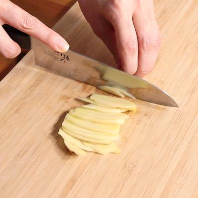 生姜の薄切り