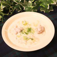 ホワイトソースが簡単に作れる!白菜と鶏肉のクリームシチュー