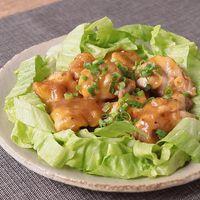 レンジで簡単 鶏もも肉のおろし玉ねぎダレ