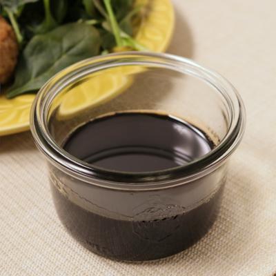 バルサミコ酢で作るガストリックソース