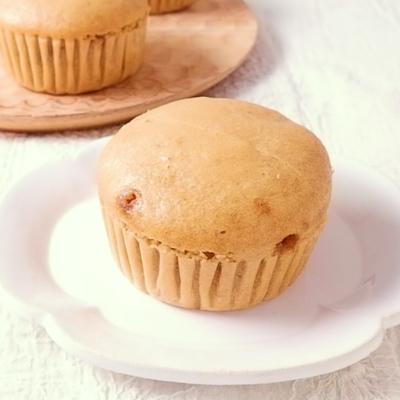 黒糖とくるみの米粉蒸しパン