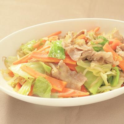 シャキシャキ 中華風野菜炒め