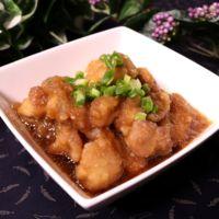 揚げ鶏の香味ポン酢