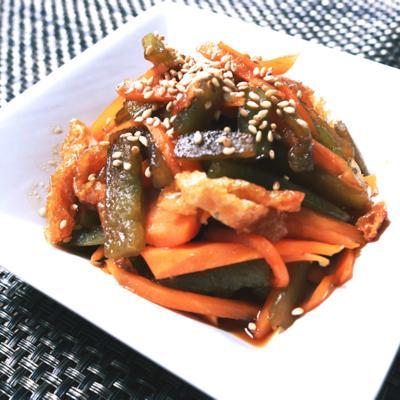 簡単副菜!山くらげの炒め煮
