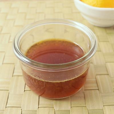 オレンジ風味の三杯酢