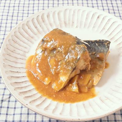 定番の鯖味噌煮