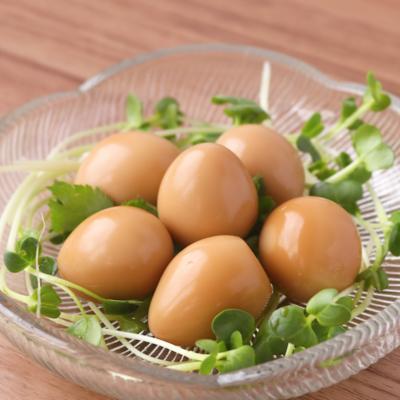 めんつゆ簡単 うずらの味付け卵