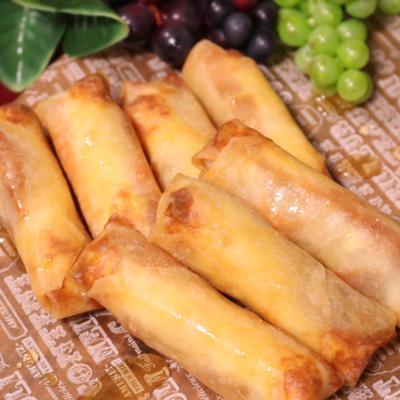 柿とクリームチーズの春巻き 〜メープルシロップがけ〜