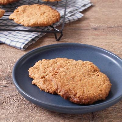 ハニーココナッツオートミールクッキー