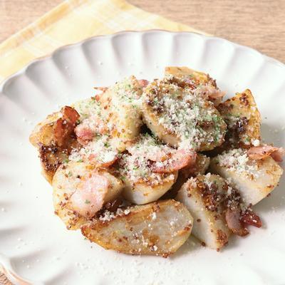 里芋とベーコンのジャーマンポテト