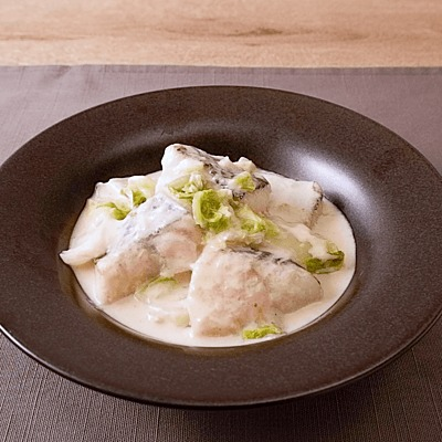 タラと白菜のクリーム煮