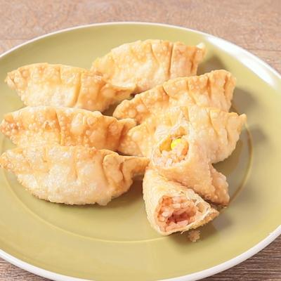 ケチャップライスとチーズのライス揚げ餃子