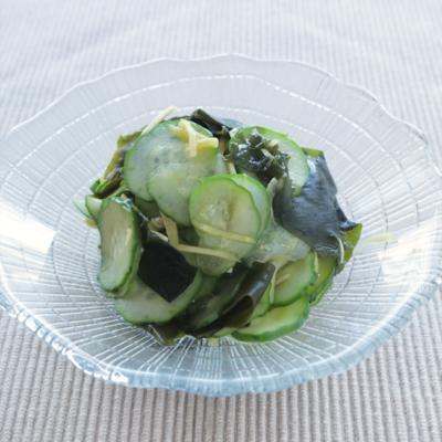 箸休めにオススメ きゅうりの酢の物