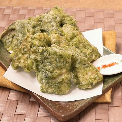 磯の香り ふっくらカマスの天ぷら