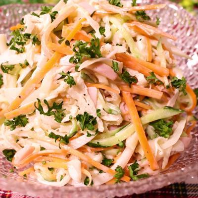 たっぷりお野菜!切り干し大根のスパサラ風