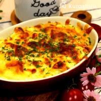 豆腐とはんぺんで作る\nチーズグラタンのレシピ