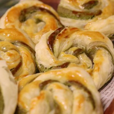発酵要らずで簡単!ねじり巻きパン