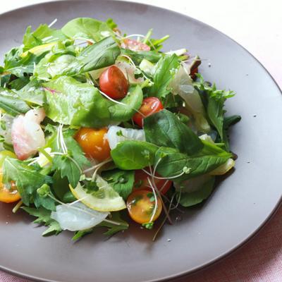 簡単 シンプル 鯛のサラダ