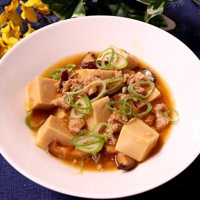 麻婆高野豆腐